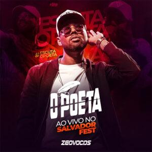 CAPA O POETA AUDIO DVD AO VIVO EM SALVADOR 2020